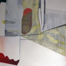 11 de Famille, 110x112cm, acrylique sur papier