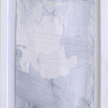 Effacé 5 - 15x19cm - technique mixte sur papier