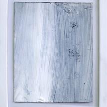 Effacé 8 - 15x19cm - technique mixte sur papier
