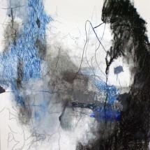 Sans-tiitre, 100x70cm-technique mixte sur papier, 2010, collection privée