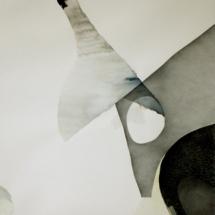 Sans-titre, 150x92cm, technique mixte sur papier, 2008