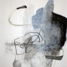 Sans-titre, 50x65cm, technique mixte sur papier, 2010