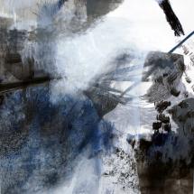 Sans-titre,100x140cm, technique mixte sur papier, 2010