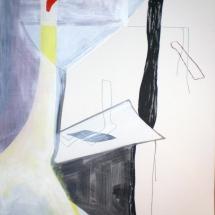 12-de-Famille--118x160cm,-acrylique-sur-papier,2011
