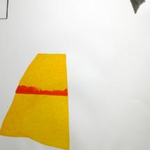 50x65cm- dessin-performancePHOTO - art - installation - picture - kunst - studio - art contemporain - noir et blanc - peinture - dessin - espace - détail