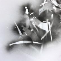 Brisure PHOTO - art - installation - picture - kunst - studio - art contemporain - noir et blanc - peinture - dessin - espace - détail