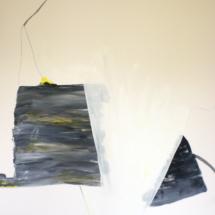 PHOTO - art - installation - picture - kunst - studio - art contemporain - noir et blanc - peinture - dessin - espace - détailr