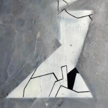 PHOTO - art - installation - picture - kunst - studio - art contemporain - noir et blanc - peinture - dessin
