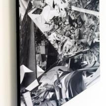 Fragment PHOTO - art - installation - picture - kunst - studio - art contemporain - noir et blanc - peinture - dessin - espace