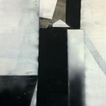 Instant PHOTO - art - installation - picture - kunst - studio - art contemporain - noir et blanc - peinture - dessin - espace