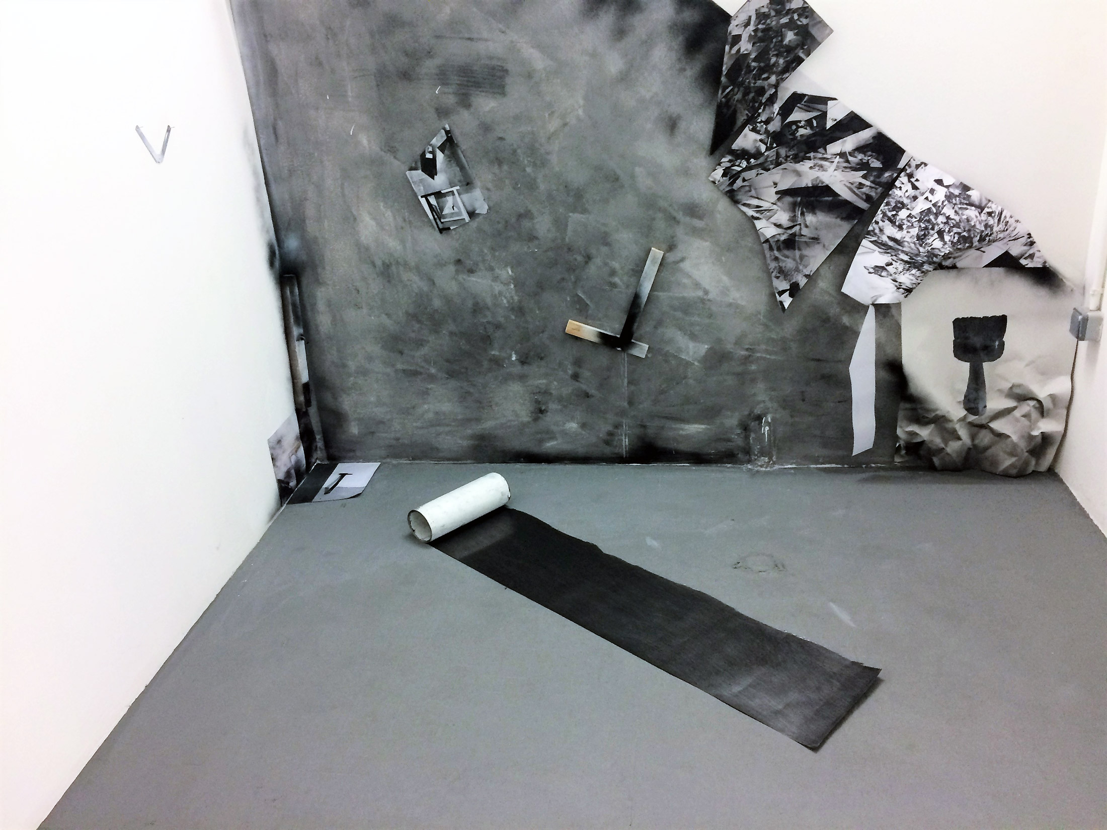 «Drop point» – solo exhibition – 2017