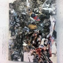 Compilation et résine - 30x45cm