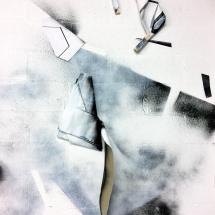 installation - atelier - studio - Louisa marajo