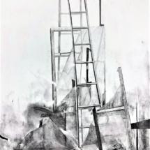 art, drawing, pencil
