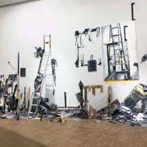 installation - art contemporain