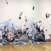 The foam of the see - installation view
