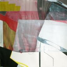 7de Famille, 110x112cm, acrylique sur papier