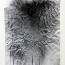 Complexité croissante 7, 50x65cm, technique mixte sur papier