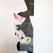 Eclats de croûtes, détail 3, 23x60cm