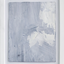 Effacé 7 - 15x19cm - technique mixte sur papier