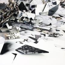 Instant d'atelier, Corner I, détail 1, 30x40cm, impression sur papier photo lustré