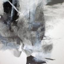 Sans-titre, 100x70cm-technique mixte sur papier, 2010