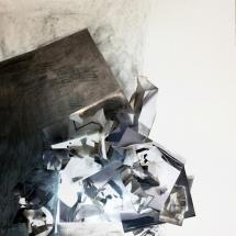 Sans-titre, 120x80cm, collage photographique et mine de plomb sur papier