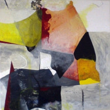 Sans-titre,120x120cm, acrylique sur toile, 2010