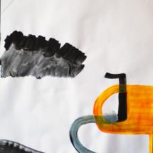 50x65cm-dessin-performancePHOTO - art - installation - picture - kunst - studio - art contemporain - noir et blanc - peinture - dessin - espace - détail