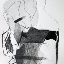 Blanc PHOTO - art - installation - picture - kunst - studio - art contemporain - noir et blanc - peinture - dessin - espace - détail
