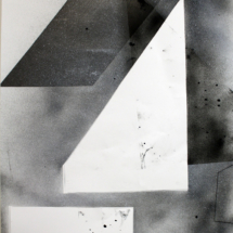 Complexité croissante PHOTO - art - installation - picture - kunst - studio - art contemporain - noir et blanc - peinture - dessin - espace - détailr