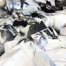 Instant d'atelier, Corner I, détail 2, 30x40cm, impression sur papier photo lustré
