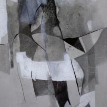 PHOTO - art - installation - picture - kunst - studio - art contemporain - noir et blanc - peinture - dessin - espace - détaile