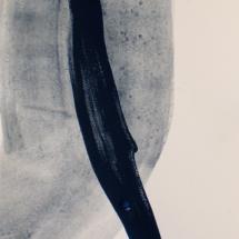 diptyque 1 30x71.5, acrylique sur papier