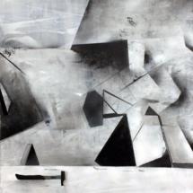 L'Atelier Dynamique -PHOTO - art - installation - picture - kunst - studio - art contemporain - noir et blanc - peinture - dessin - espace