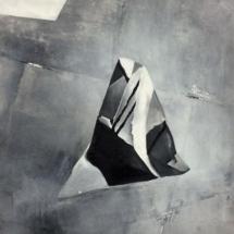PHOTO - art - installation - picture - kunst - studio - art contemporain - noir et blanc - peinture - dessin - espace