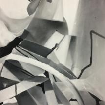 PHOTO - art - installation - picture - kunst - studio - art contemporain - noir et blanc - peinture