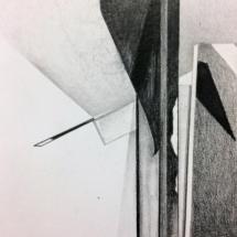 dessin - drawing - art - kunst - art contemporain - drawing now - Louisa Marajo