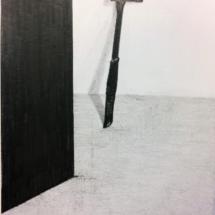 dessin - objet - espace - drawing now - noir et blanc - exposition - Louisa Marajo - art contemporain - arte -