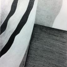 dessin - drawing now - espace - motif - noir et blanc - exposition - art contemporain - Louisa Marajo - kunst - arte