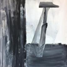 peinture - marteau - art contemporain - Louisa Marajo