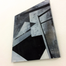 peinture - bois - art contemporain - louisa marajo