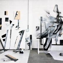 art contemporain - installation - peinture