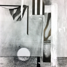 FORMS OF CONSTRUCTION 1 - lead pencil on paper - 50x65cm