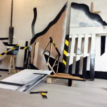 Scaffolding 2 - studio view - about 5x3x3.5m