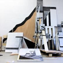 Scaffolding 1 - studio view - about 5x3x3.5m