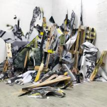 installation, art, painting, architecture