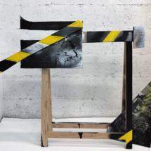 trestle, painting, sculpture