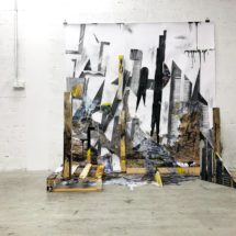 SARGASSUM - installation - painting