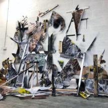 installation - painting - ground - photograph